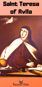 Saint Teresa of Avila DVD and book 50% off plus free shipping - Bob and Penny Lord
