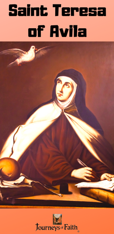 Buy Saint Teresa of Avila DVD and book DVD Bob and Penny Lord