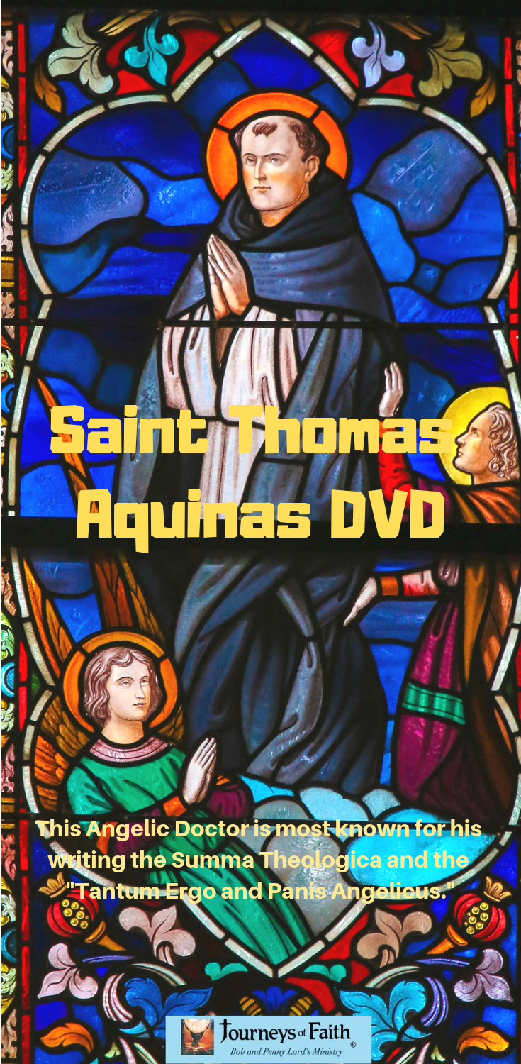Saint Thomas Aquinas DVD - Bob and Penny Lord