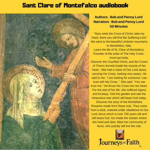 Saint Clare of Montefalco audiobook - Bob and Penny Lord