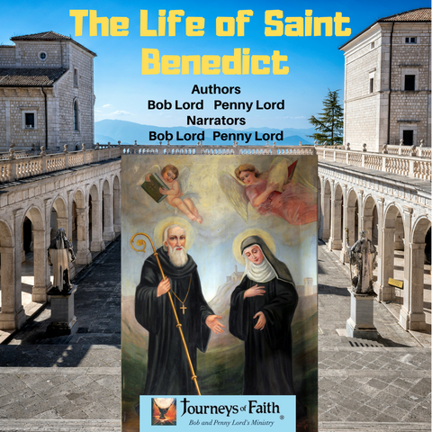 Saint Benedict Audiobook - Bob and Penny Lord