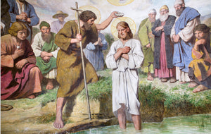 Baptism in the Jordan | Luminous Mysteries of the Rosary