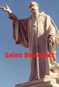 Saint Benedict  DVD - Bob and Penny Lord
