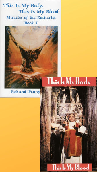 Miracles of the Eucharist best seller Book plus DVD - Bob and Penny Lord