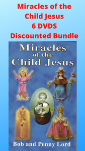 Miracles of the Child Jesus 6 DVDS Discounted Bundle