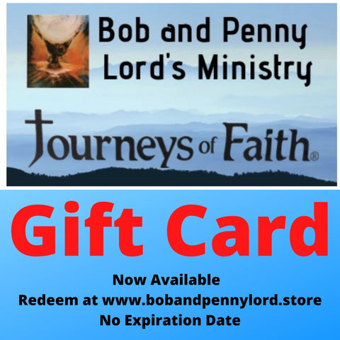 Bob and Penny Lord Store Gift Card Choose your Amount
