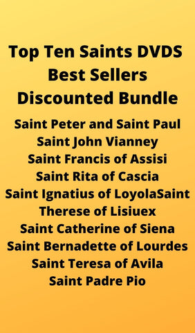 Top Ten Sai nts DVDS Best Sellers Discounted Bundle