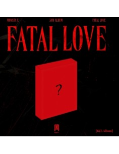 Monsta X 3rd Album - Fatal Love (Air Kit)
