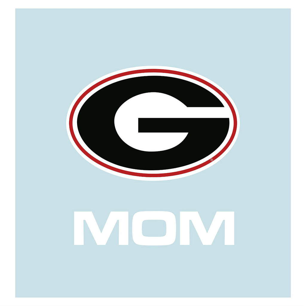 "UGA 5"" Mom Square Decal"