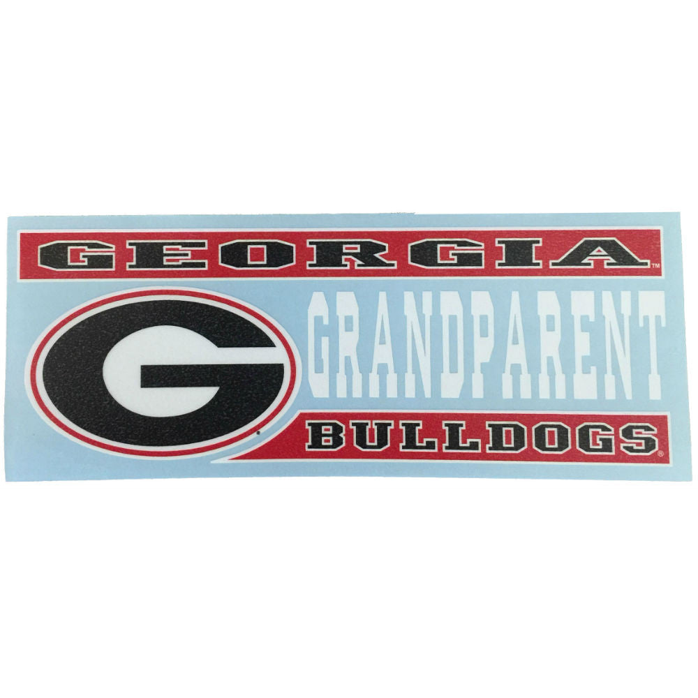 "Georgia Bulldogs 6"" UGA Grandparent Decal"
