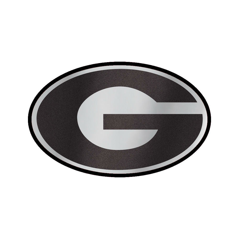 Georgia Bulldogs UGA Reflective Super G Magnet 3""
