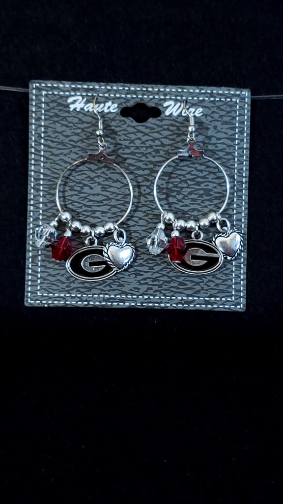 UGA Charm Earrings