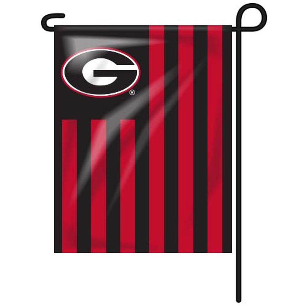 UGA Garden Flag Red/Black American