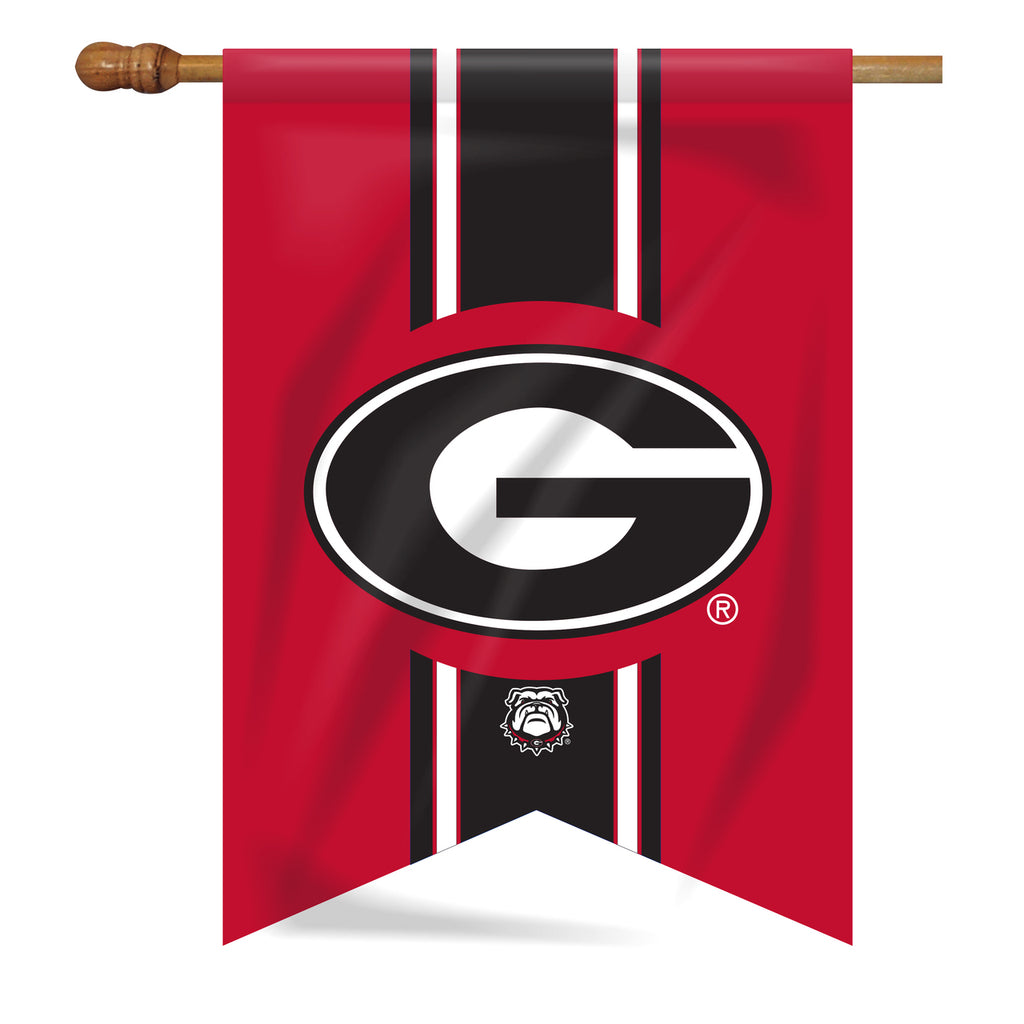 UGA Vintage Super G House Flag
