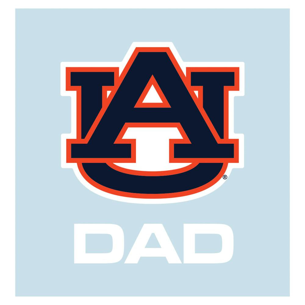 Auburn Tigers AU Dad Decal 5""
