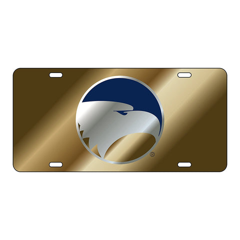 Georgia Southern Eagles GSU Gold Mirror Logo Car License Plate