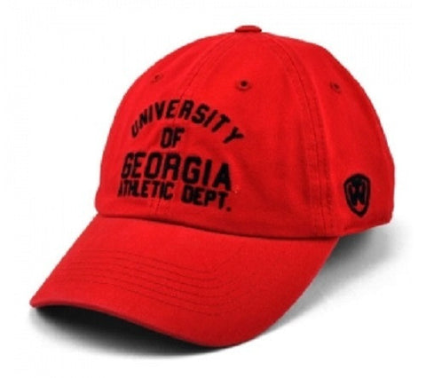Georgia Bulldogs UGA Athletic Dept. Red Cap Hat