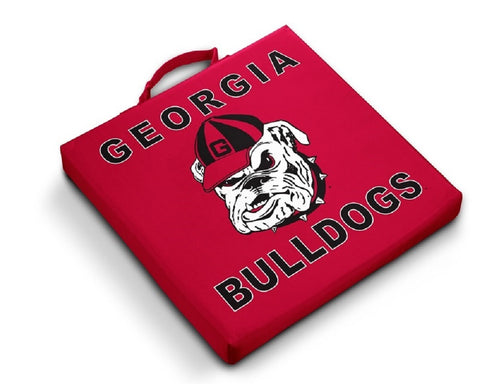 Georgia Bulldogs UGA Red Stadium Seat Cushion
