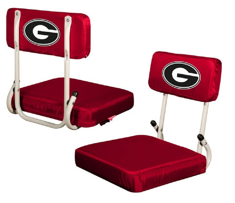 Georgia Bulldogs UGA Red Hardback Stadium Seat
