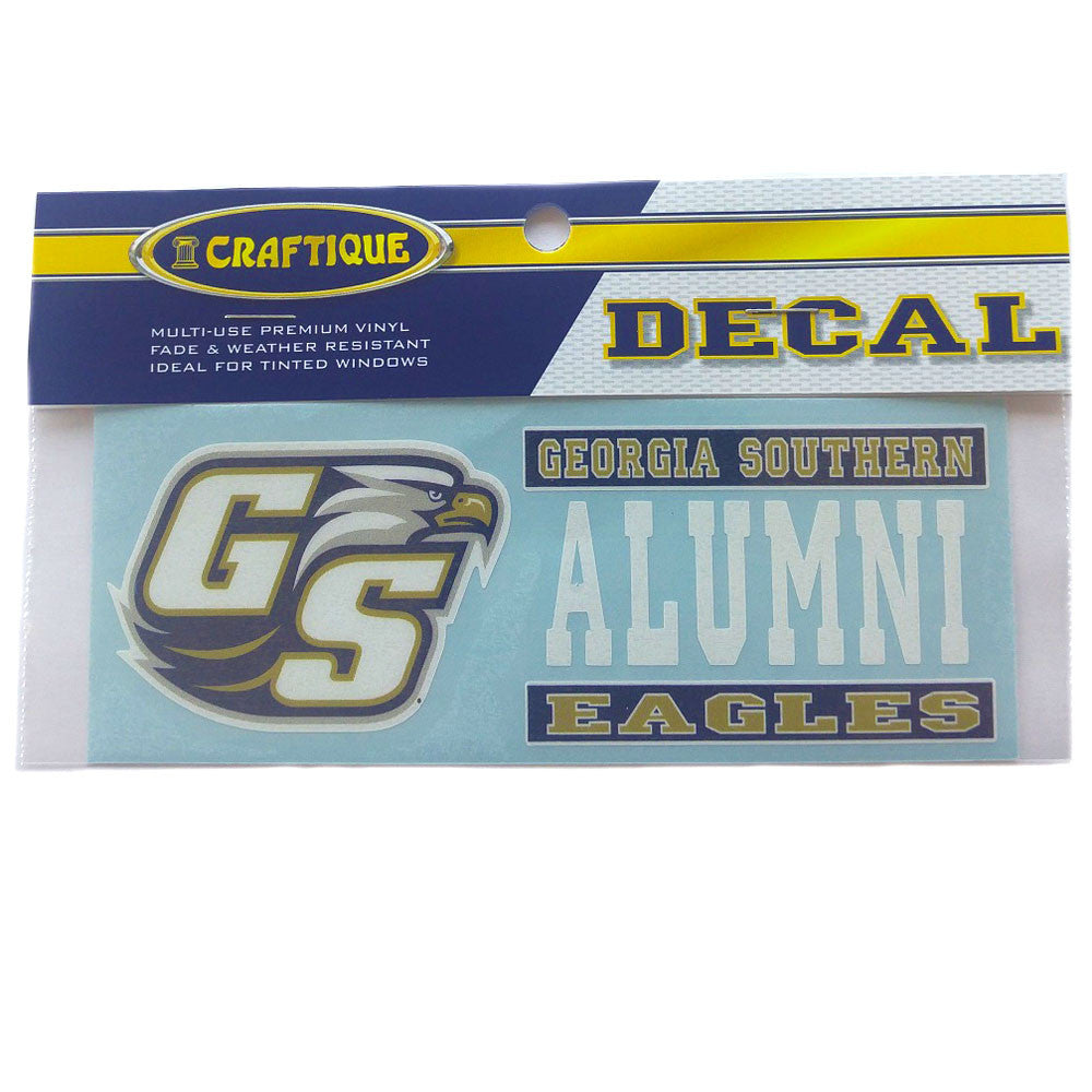Georgia Southern Eagles Alumni Decal 6""