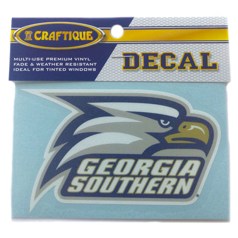 Georgia Southern University Eagles Head Decal 6""
