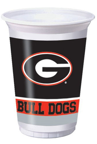 UGA Super G 8 Count Plastic Cups