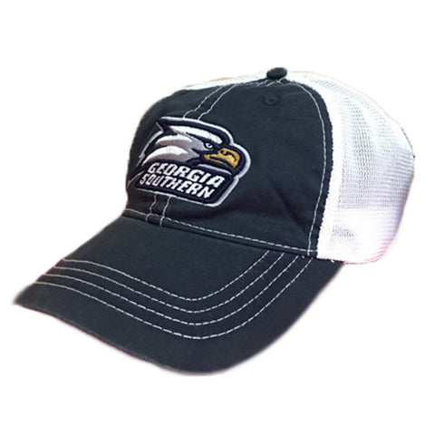 Georgia Southern Eagles GSU Unstructured Vintage Trucker Mesh Navy/White Cap Hat