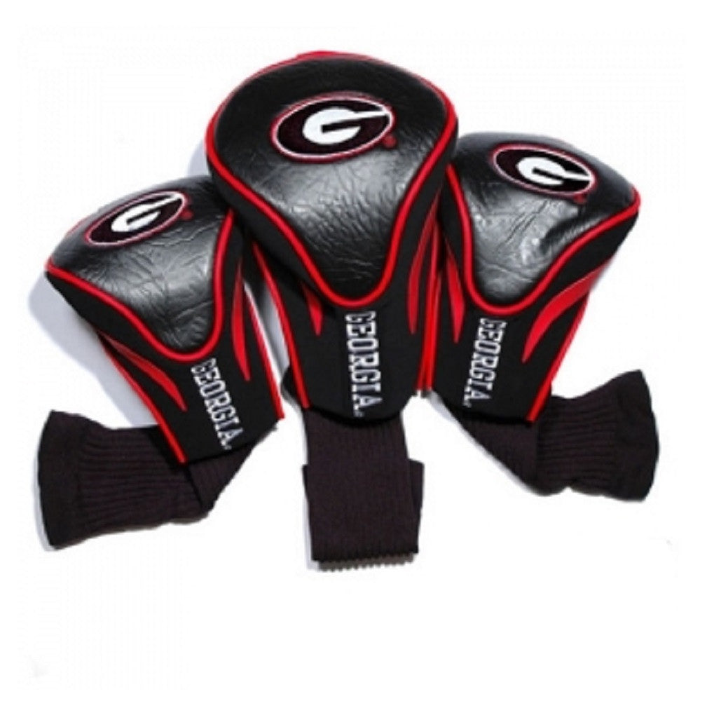 Georgia Bulldogs UGA Three Pack Golf Club Headcovers
