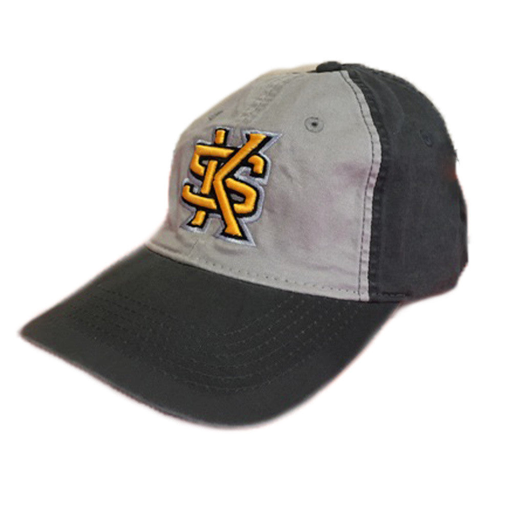 Kennesaw State University Owls KSU Vintage Adjustable Charcoal/Silver Cap Hat