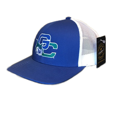 Georgia College GCSU Bobcats Trucker Mesh Royal/White Cap Hat