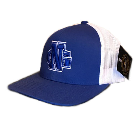 North Georgia Nighthawks UNG Trucker Mesh Royal/White Cap Hat