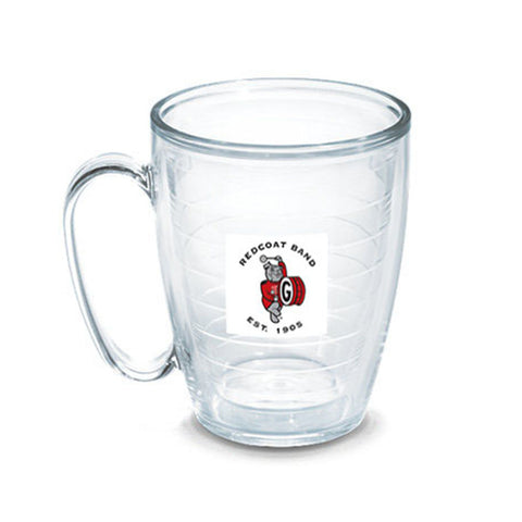 UGA Redcoat Band Tervis Tumbler 16 oz. Mug