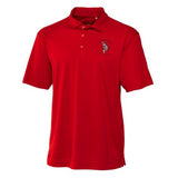 UGA Redcoat Band Red Men's 4 oz. Polytech Polo Shirt