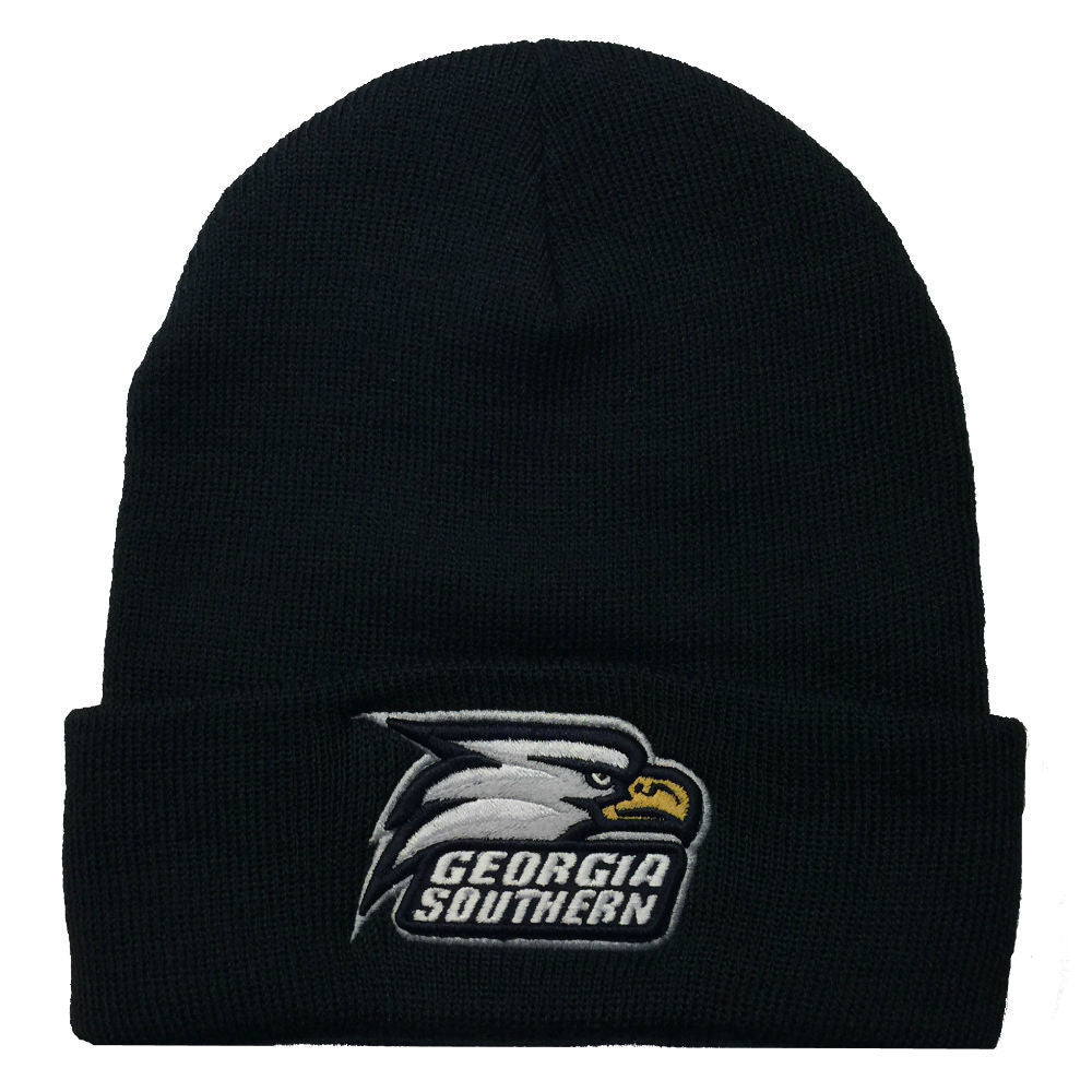 Georgia Southern Eagles GSU Knit Fold Navy Beanie