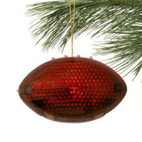 Auburn Tigers Football Christmas Tree Ornament Acrylic Light-Up In Box