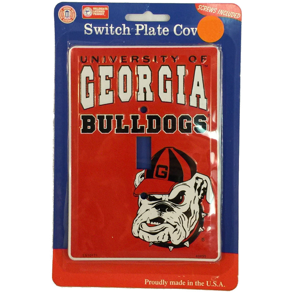 UGA Light Switch Plate Cover