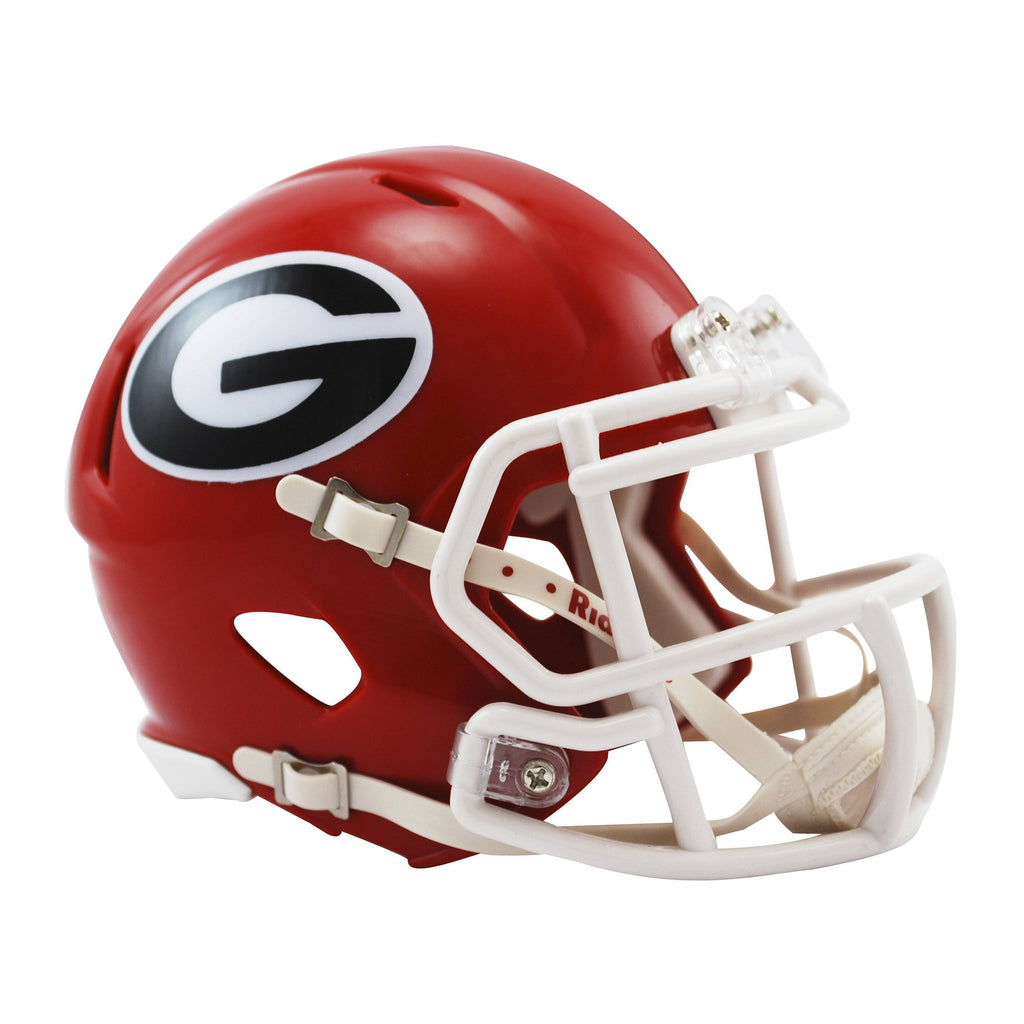 Georgia Bulldogs UGA Riddell Speed Mini Football Helmet