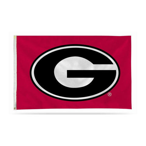 UGA Flag 3' x 5' Super G Red