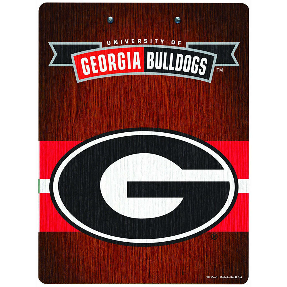 "University of Georgia Bulldogs UGA 9"" x 12"" Team Clipboard"