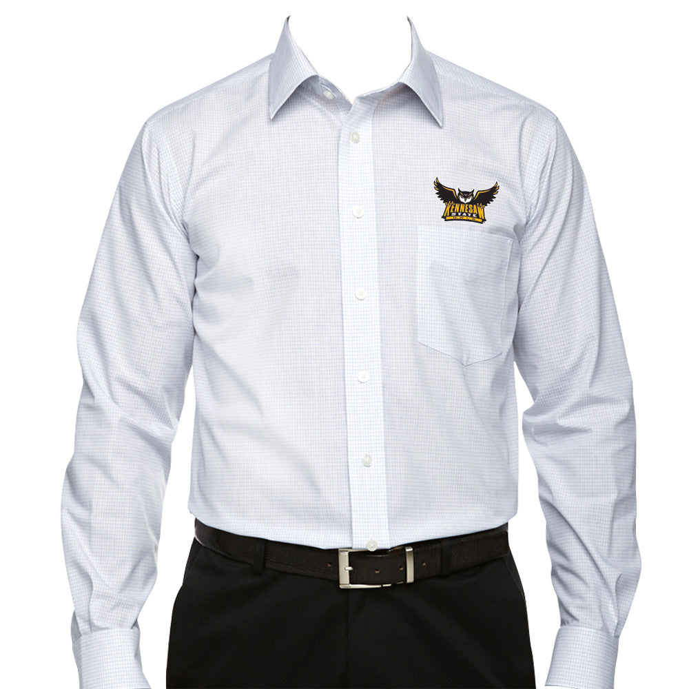 Kennesaw State University Owls KSU Full Button Dress Shirt Multiple Sizes