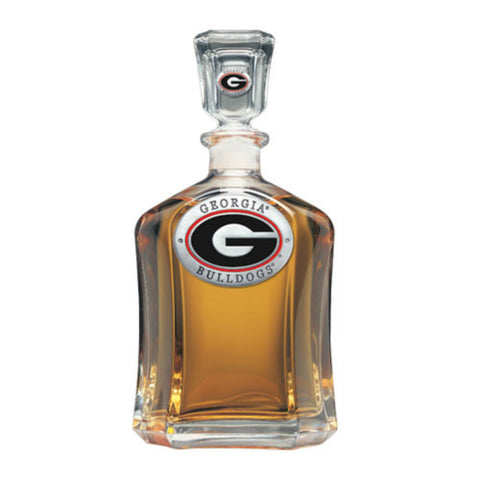Georgia Bulldogs UGA Capitol Decanter