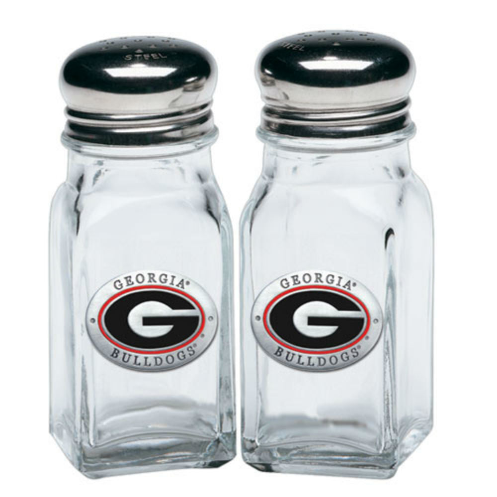 Georgia Bulldogs UGA Salt and Pepper Shakers
