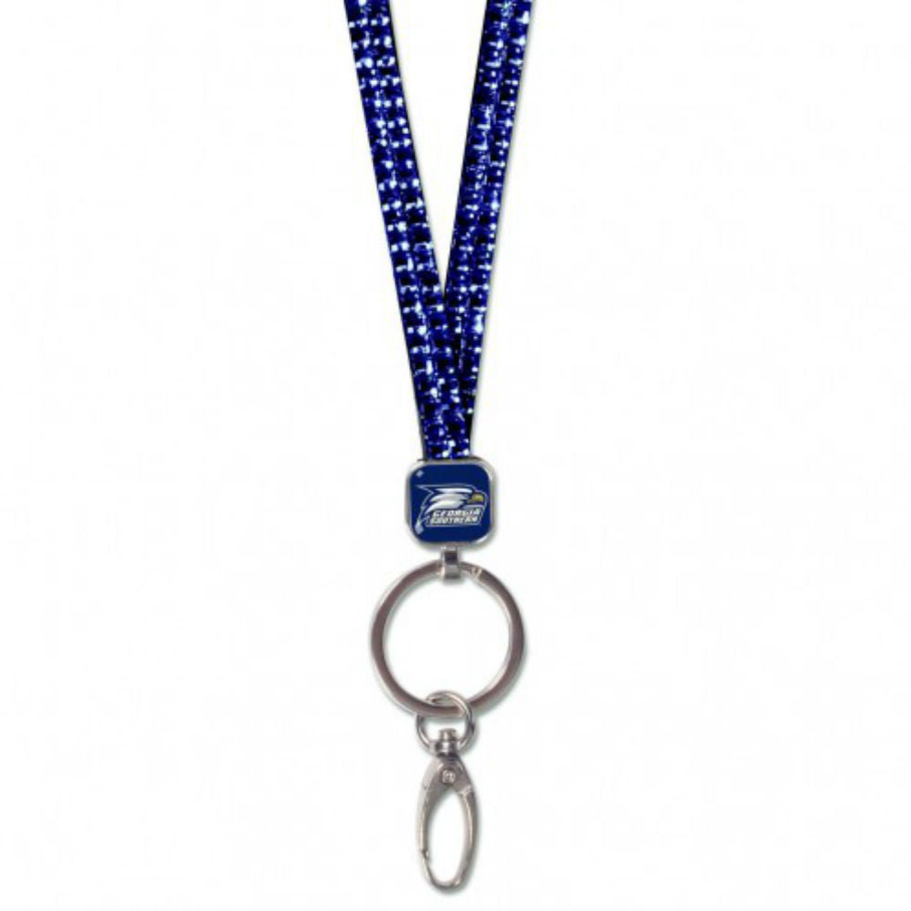 Georgia Southern University GSU Eagles Crystal Bling Lanyard