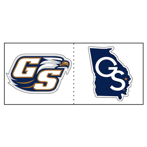 Georgia Southern Eagles GSU Eagle Georgia State Cooler Cals Decal 2""