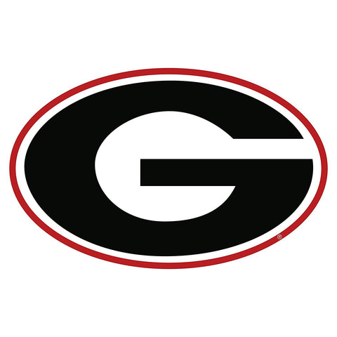 "Georgia Bulldogs 3"" UGA Super G Decal Sticker"