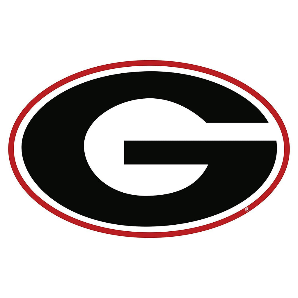 "Georgia Bulldogs 6"" UGA Super G Decal Sticker"