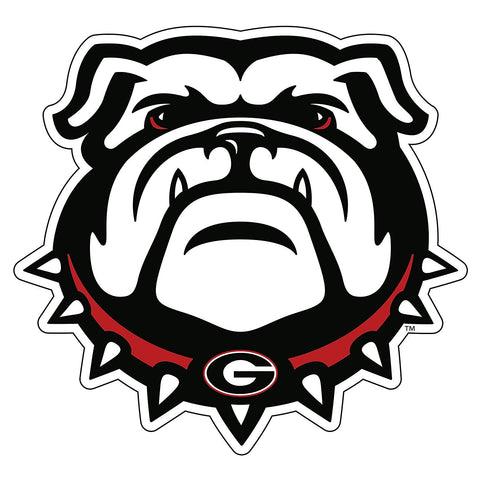 "Georgia Bulldogs 6"" UGA Dawg Logo Decal Sticker"