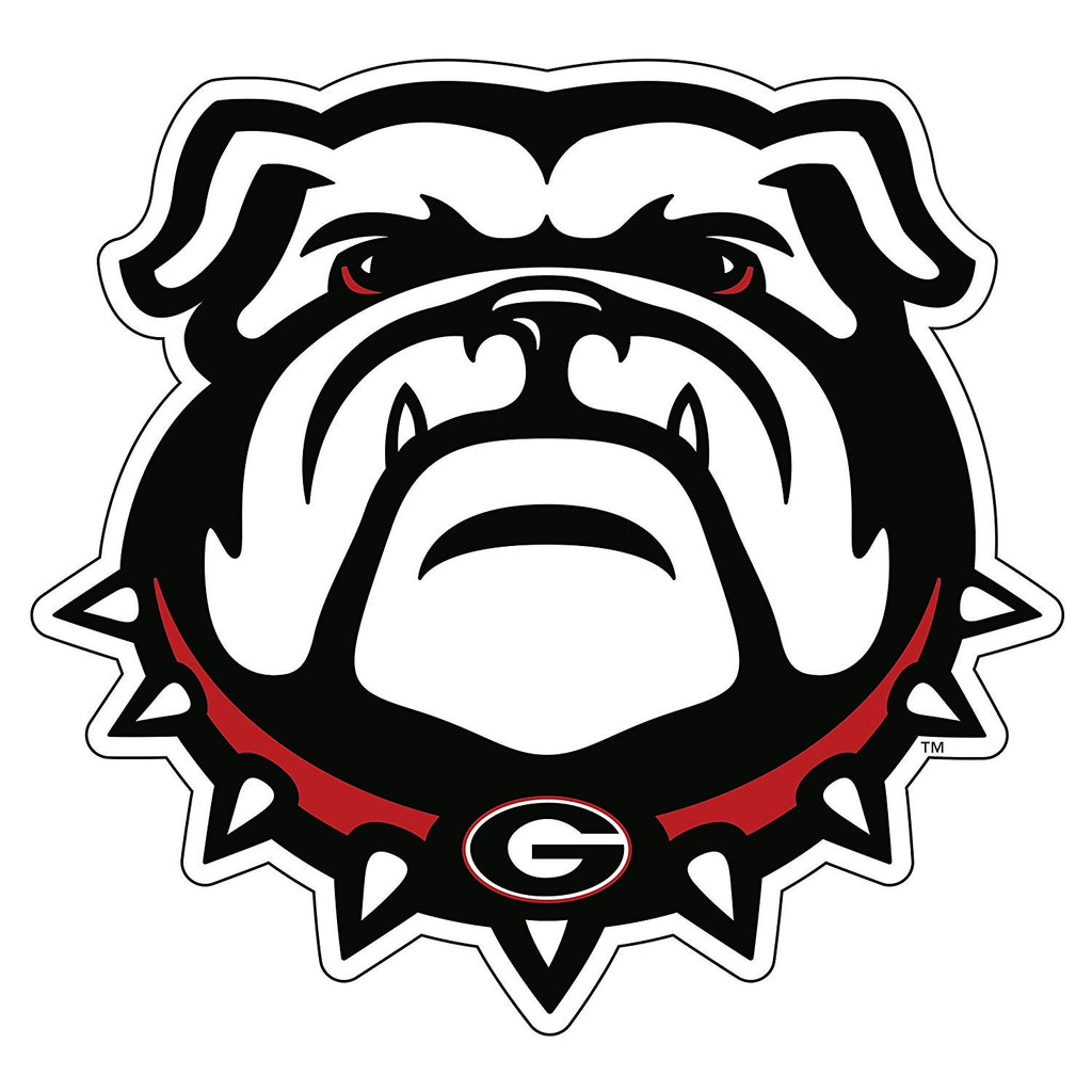 "Georgia Bulldogs 4"" UGA Dawg Logo Decal Sticker"