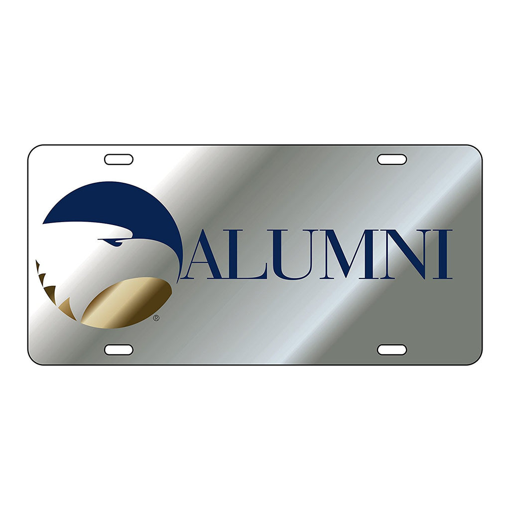 Georgia Southern Eagles GSU Alumni Silver Mirror Logo Car License Plate