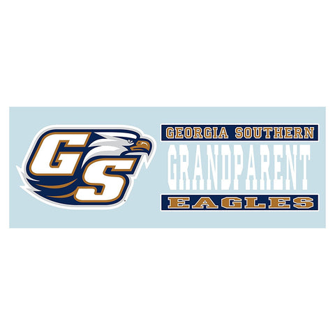 Georgia Southern University Eagles GSU Grandparent Decal 6""